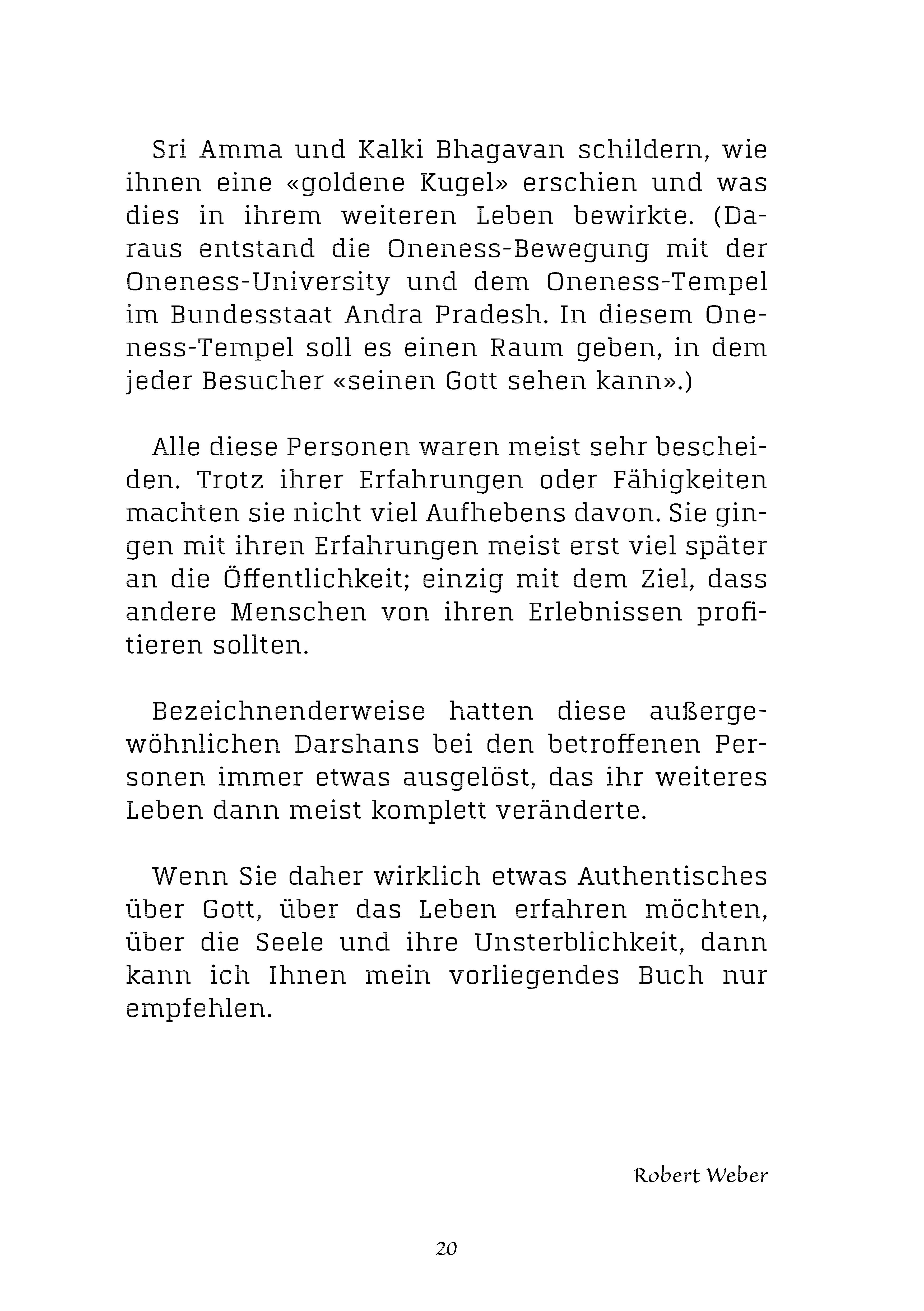 DARSHAN mit GOTT: Leseprobe, Einleitung, Seite 17 bis 24