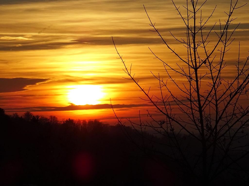 DARSHAN mit GOTT: Sonnenuntergang Mühlethal, 2019